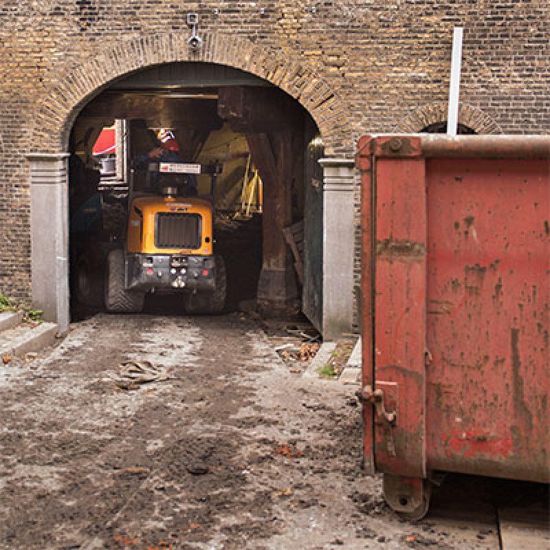 Start bouw Mouterij Schiedam