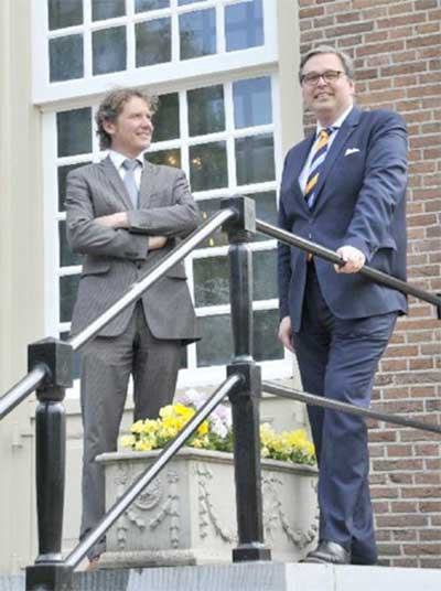 Links: Machiel van der Plas; Rechts: Jan de Mooij